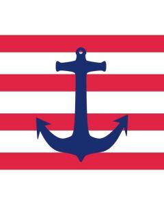 Nautical Stripes Roomba 860 Skin
