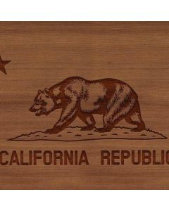 California Wood Flag Roomba 880 Skin