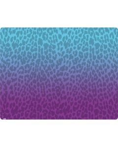 Cheetah Print Purple and Blue Roomba i7+ with Dock Skin