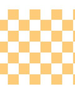 Yellow and White Checkerboard Roomba 890 Skin