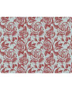 Marsala White Rose Roomba 690 Skin