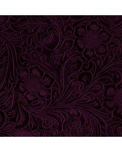 Botanical Flourish Violet Roomba i7+ with Dock Skin