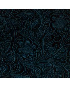 Botanical Flourish Blue Roomba 880 Skin
