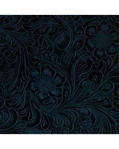 Botanical Flourish Blue Roomba i7+ with Dock Skin