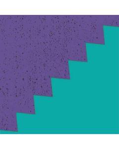 Purple Turquoise Zig Zag Roomba e5 Skin