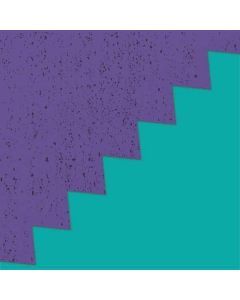 Purple Turquoise Zig Zag Roomba 880 Skin