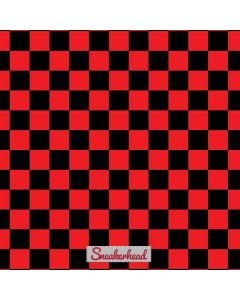 Sneakerhead Red Checkered Roomba e5 Skin