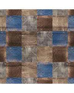 Lumber Grid Roomba 880 Skin