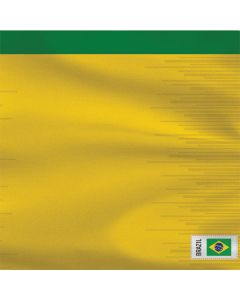 Brazil Soccer Flag Roomba i7+ with Dock Skin