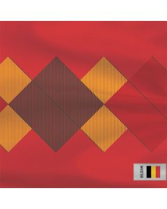 Belgium Soccer Flag Roomba i7+ with Dock Skin