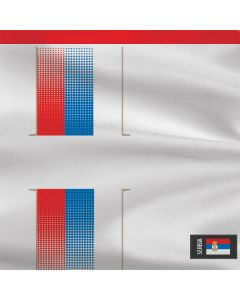 Serbia Soccer Flag Roomba e5 Skin