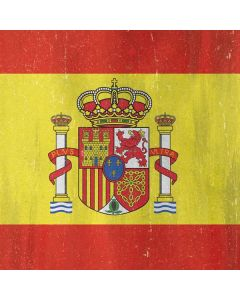 Spain Flag Distressed Roomba i7+ with Dock Skin