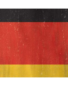 German Flag Distressed Roomba i7+ with Dock Skin