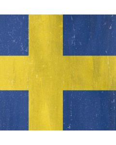 Sweden Flag Distressed Roomba i7+ with Dock Skin