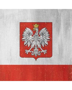 Poland Flag Distressed Roomba s9+ no Dock Skin