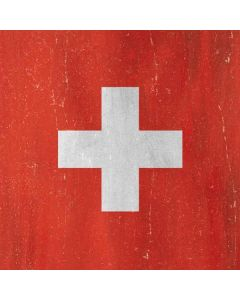 Switzerland Flag Distressed Roomba i7+ with Dock Skin