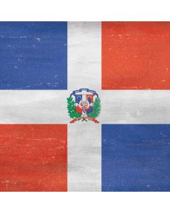 Dominican Republic Flag Faded Roomba s9+ with Dock Skin