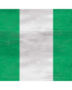 Nigeria Flag Distressed Roomba i7+ with Dock Skin