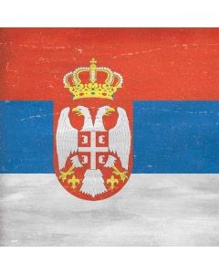Serbia Flag Distressed Roomba e5 Skin