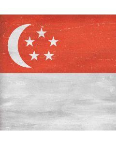 Singapore Flag Distressed Roomba e5 Skin
