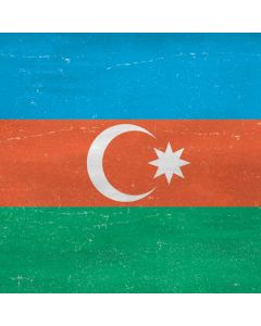 Azerbaijan Flag Distressed Roomba e5 Skin