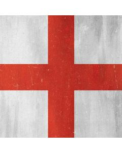 England Flag Distressed Roomba i7+ with Dock Skin