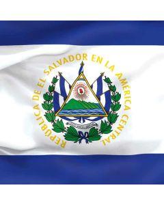 El Salvador Flag Roomba 890 Skin