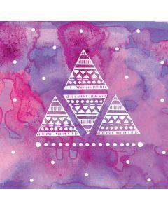 Pink Tribal Euphoria Roomba i7+ with Dock Skin