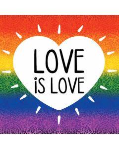Love Is Love Rainbow Roomba i7+ with Dock Skin