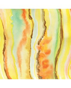 Tuscan Sun Watercolor Geode Roomba 960 Skin