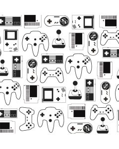 Retro Gaming Controllers Roomba 890 Skin