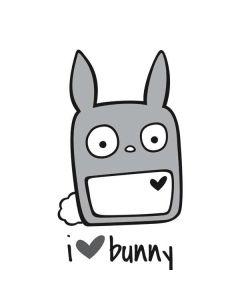 i HEART bunny Roomba e5 Skin