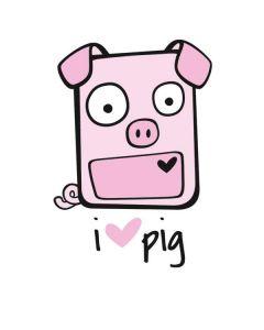 I HEART pig Roomba 880 Skin