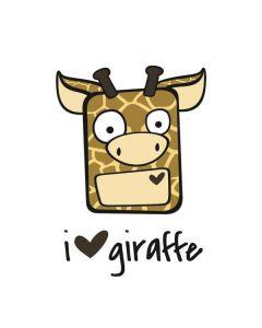 I HEART giraffe Roomba 880 Skin