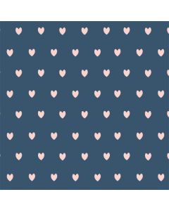 Blue and Pink Hearts Roomba 960 Skin