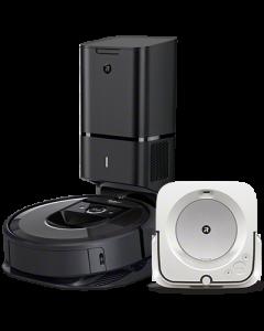 Custom iRobot Roomba i7+ with Dock Skin