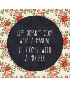 Life Doesnt Come With A Manual Roomba e5 Skin