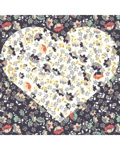 Floral Heart Roomba 880 Skin