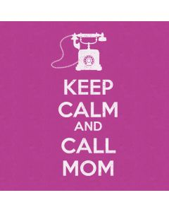Keep Calm And Call Mom Purple Roomba e5 Skin