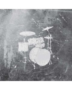 Faded Drumset Roomba 690 Skin