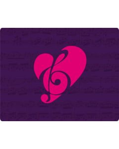 Purple Musical Notes Roomba 880 Skin