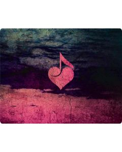 Rustic Musical Heart Roomba 880 Skin