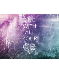 Sing With All Your Heart Roomba 860 Skin