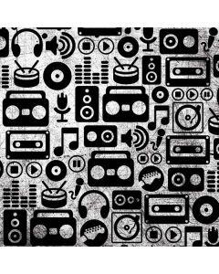 Music Pattern Roomba s9+ no Dock Skin