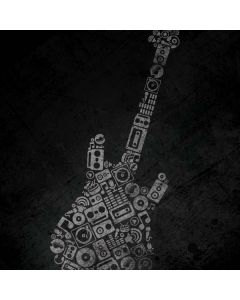 Guitar Pattern Roomba 880 Skin