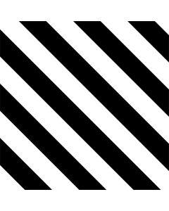 Black and White Geometric Stripes Roomba i7+ with Dock Skin