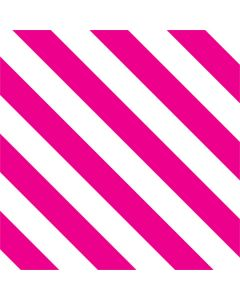 Pink and White Geometric Stripes Roomba e5 Skin
