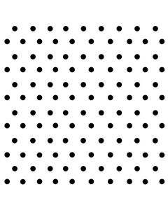 White and Black Polka Dots Roomba 880 Skin