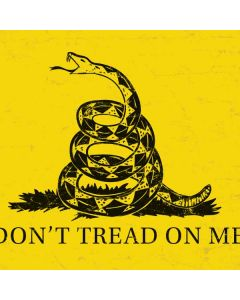 Dont Tread On Me Roomba s9+ no Dock Skin
