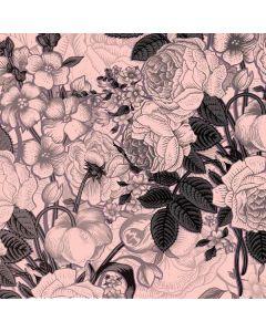Rose Quartz Floral Roomba i7+ with Dock Skin